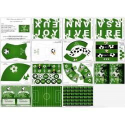 Kit Football - vert
