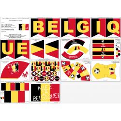 Kit Football Belgique